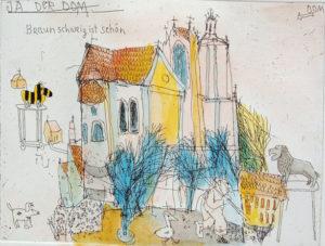 Anne-Sophie Edition Eintracht  Kunstdruck auf Leinwand  100 x 50 cm 290,- Euro