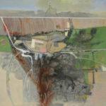 Acryl auf Leinwand Gunther Fritz Orte/ Goggle Bilder 80 x 100 cm