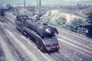 Schnellzuglok 10 001, Kassel 1962