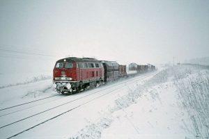 Diesellok 216 bei Peine 1970
