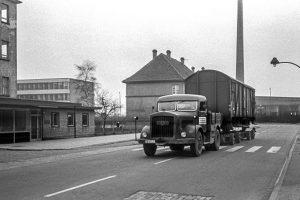 Kaelble Straßenroller Ackerstraße, Ende 50er Jahre